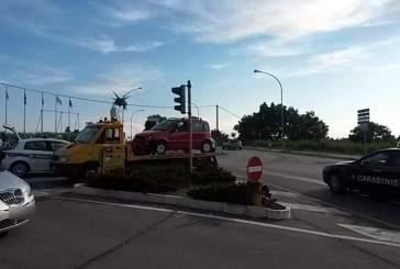 Incidente sulla circonvallazione, nessun ferito grave