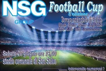 La V edizione del torneo aziendale NSG Football Cup