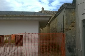 Camposanto Chiesa adiacenza lato dx