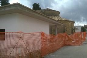 Camposanto Chiesa prospetto lato sx