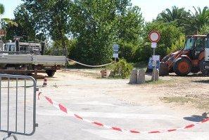 Lavori urgenti per la pista ciclabile di Vasto Marina