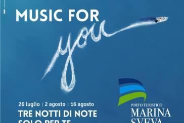 Montenero di B.: con la musica napoletana si chiude Notti di Note al porto Marina Sveva