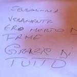 Torino di Sangro (Chieti): biglietto lasciato dai ladri in Centro Visite della Lecceta