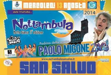 San Salvo: la III edizione di Nottambula, la Notte bianca nel centro città