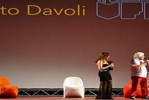 Ninetto Davoli al d'Avalos per la prima serata del Vasto Film Festival
