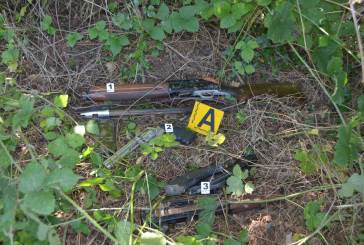 Recuperate le armi usate per il colpo all'ufficio postale di Rapino