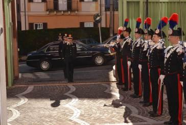 Il generale Mottola a Chieti per complimentarsi per gli arresti di Rapino