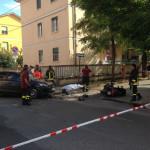 incidente stadale a Sulmona, morto centauro di 47 anni
