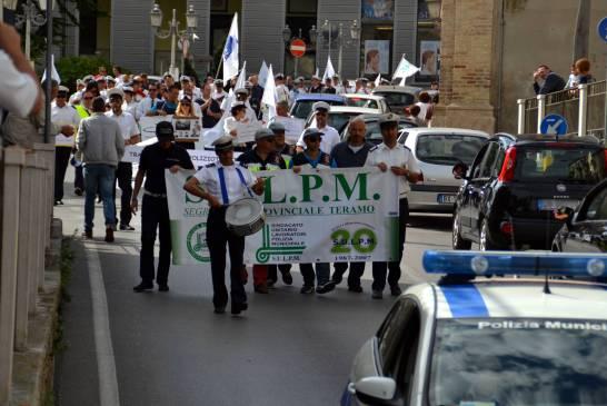 manifestazione-polizia municipale - 086