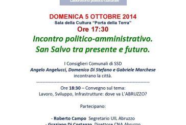 San Salvo: con San Salvo Democratica si parla di lavoro e sviluppo per l'Abruzzo