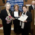 Emilia D'Adamo premiata il 20 settembre 2014 all'Histonium