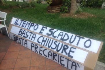Chiusura della redazione de Il Tempo, giornalisti e politici in piazza