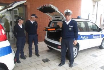 San Salvo: dopo le bici, alla Polizia municipale arrivano le Panda a metano