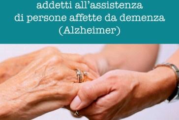Corso di formazione per addetti all'assistenza di persone affette da Alzheimer