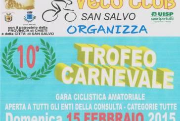 """San Salvo: alla Marina la decima edizione del """"Trofeo Carnevale"""" di ciclismo"""