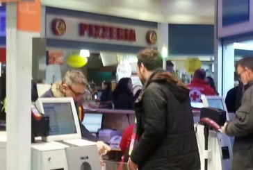 Bruno Barbieri ha fatto compere al Conad Superstore di Vasto