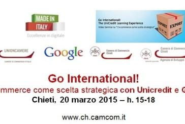 A Chieti un seminario sull'e-commerce con Google e Unicredit