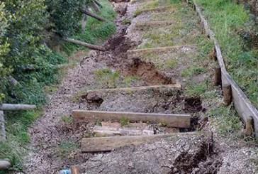 Maltempo, danni anche nell'area della Riserva di Punta Aderci