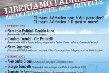 Nuova mobilitazione del Movimento 5 Stelle di Vasto contro le trivelle nell'Adriatico