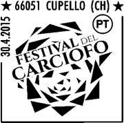 Poste italiane celebra il Festival del carciofo di Cupello