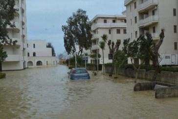 San Salvo: in corso di attivazione le idrovore per ridurre il livello dell'acqua alla Marina