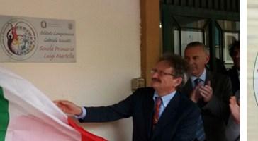 L'istituto comprensivo 2 di Vasto intitolato a Gabriele Rossetti. Stamane la cerimonia.