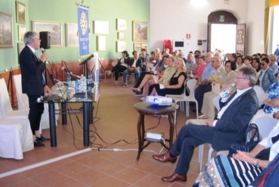 1 - Introduzione del Presidente del Rotary dott. Angelo Muraglia