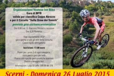 Scerni: sugli sterrati e i tratturelli la GranFondo d'Abruzzo di mountain bike