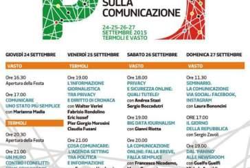 Tra Vasto e Termoli la quattro giorni della Festa nazionale de L'Unità sulla Comunicazione