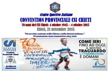 Chieti: si celebrano i 70 anni del Csi provinciale