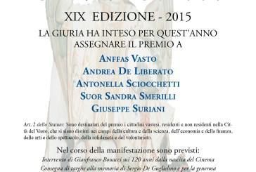 Vasto: a Palazzo d'Avalos la consegna del Premio S. Michele