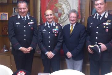 A Vasto il Gen. Sirimarco, Comandante delle Legione Carabinieri d'Abruzzo