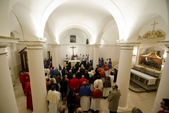 riapertura della restaurata Cripta di San Cesario_20151030_0098