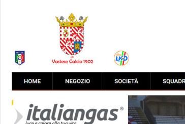 Vastese Calcio 1902, on-line il nuovo sito istituzionale