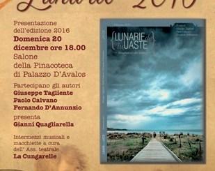 Lu lunarie de lu Uašte, domenica la presentazione della sedicesima edizione