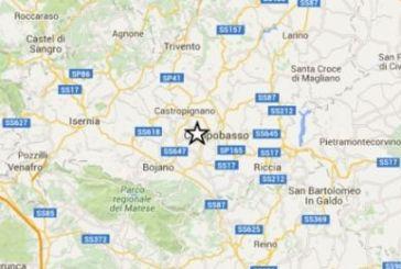 Ore 19,55: terremoto in Molise