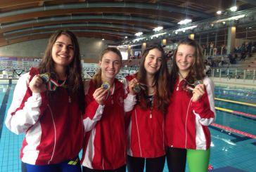Nuoto, Criteria Giovanili: Serena Nanni è medaglia di bronzo con la 4x100mi Juniores