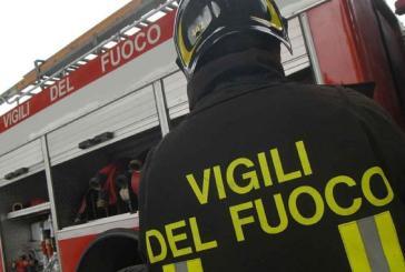 Protezione Civile di San Salvo, un incendio ha distrutto un camion