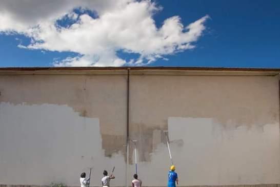 Un murales per passione