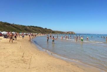 Agli inglesi piace la spiaggia di Punta Aderci