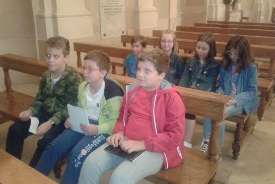 San Michele studiato dalle quarte della Spataro