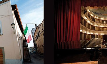 Vasto e il Teatro Rossetti tra Tagliente e Lapenna