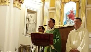 La celebrazione della Santa Messa di don Angelo Di Rito