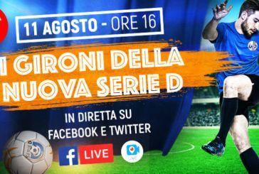 Calcio, slitta la presentazione dei Gironi di Serie D