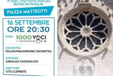 """Il Coro Polifonico Histonium B. Lupacchino all'evento """"1000 Voci per Amatrice"""