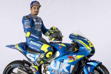 Andrea Iannone e la nuova Suzuki: