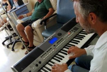 Al San Pio musica e arte mentre si fa la chemio