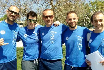Al Trofeo Kòmaros altre medaglie per l'Apnea Team Abruzzo