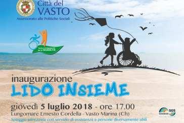 Giovedì si inaugura la spiaggia per disabili