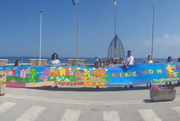 Un grande murales colorato dai bambini per la Settimana della Cultura